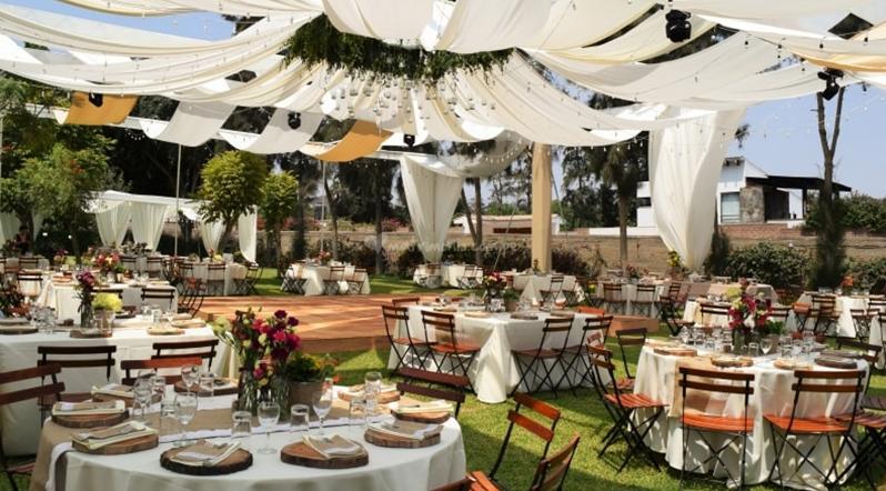 Jardines para matrimonios en Lima